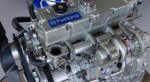Fotografia de um motor Perkins®